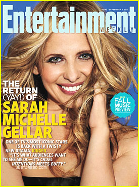 Sarah Michelle Gellar on the Cover of Entertainment Weekly