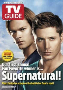 Supernatural wins TV Guide Magazine's 1st Fan Favorite Cover