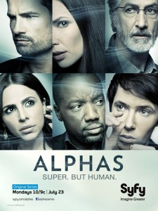 Syfy Alphas Season 2 Preview [VIDEO]