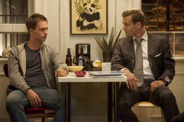 A Suits Moment Of Goodness Harvey And Mike Put The Quot High