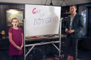 "The New Normal Preview: John Stamos talks ""Gaydar"""