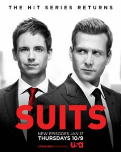 Countdown to Suits Winter Premiere: Season 2.5 Giveaway