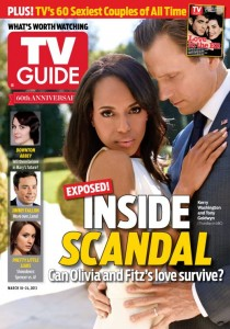 Hiatus Helper: Scandal's Kerry Washington and Tony Goldwyn talk to TV Guide Magazine [VIDEO]