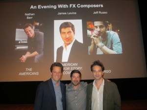 TV Goodness Reports: An Evening with FX Composers Nathan Barr, James Levine and Jeff Russo