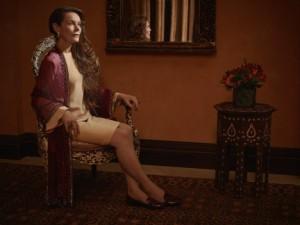 TYRANT - Pictured: Alice Krige as Amira. CR: Matthias Clamer/FX