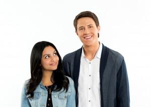 Bianca Santos as 'Lucy' & Shane Harper as 'Ian'