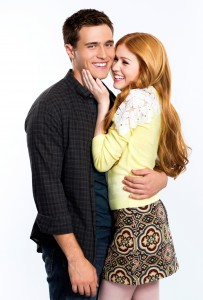 Cameron Moulene as 'Will' & Katherine McNamara as 'Harper'