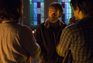 "The Final Course and a Dish of Revenge Served Cold, The Walking Dead ""Four Walls and a Roof"""