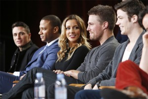 The Cast and EPs of The Flash & Arrow Discuss Heroes and Villains