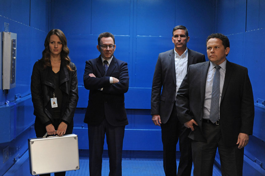 The Cast and EPs of CBS' POI Preview Season 5 | TV Goodness