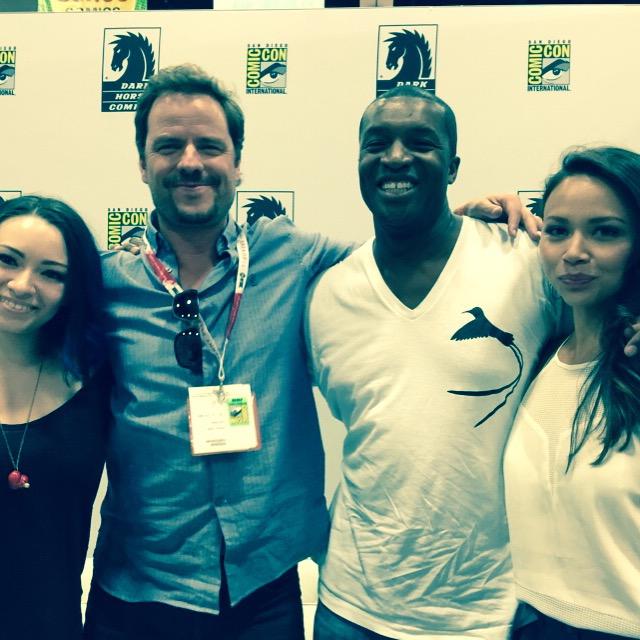 Comic-Con 2015: The Cast of Syfy's Dark Matter Tease Rest of Season 1