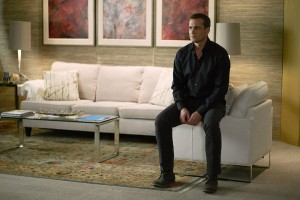 """SUITS -- """"Faith"""" Episode 510 -- Pictured: Gabriel Macht as Harvey Specter -- (Photo by: Shane Mahood/USA Network)"""
