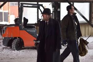 "THE STRAIN -- ""The Born"" -- Episode 207 (Airs August 23, 10:00 pm e/p) Pictured: (l-r) David Bradley as Abraham Setrakian, Kevin Durand as Vasiliy Fet. CR: Michael Gibson/FX"