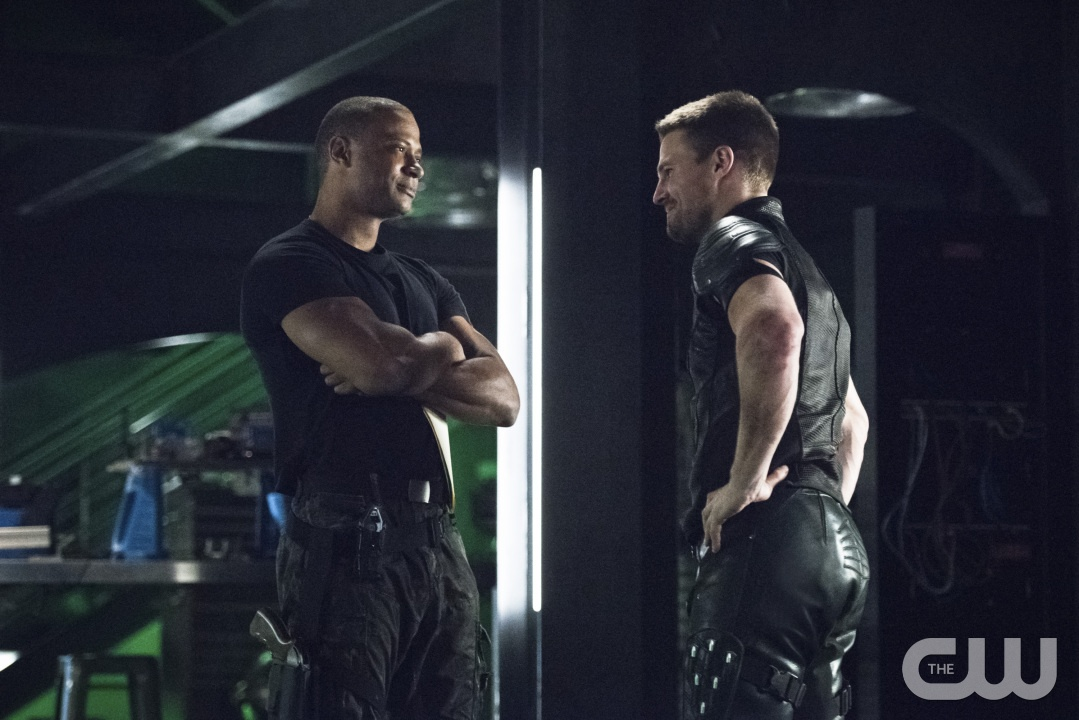 "Diggle Faces a Ghost, Arrow ""Brotherhood"""