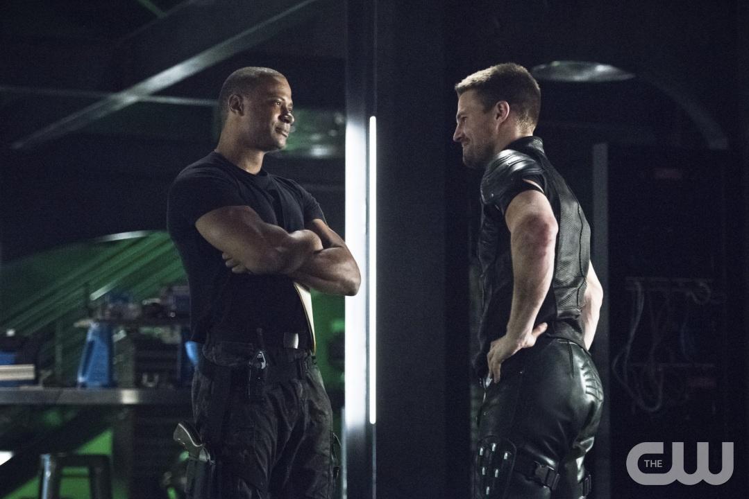 """Diggle Faces a Ghost, Arrow """"Brotherhood"""""""