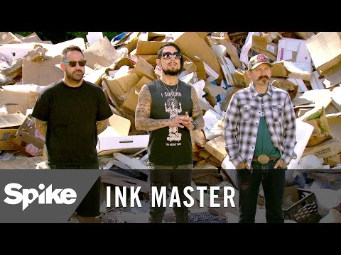 """Ink Master Preview: """"One Man's Trash"""""""