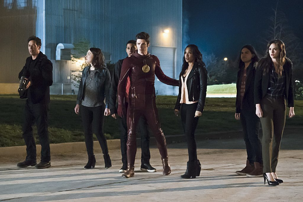 """The Flash """"The Race of His Life"""" Season 2 finale"""