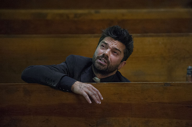Dominic Cooper as Jesse Custer - Preacher _ Season 1, Episode 7