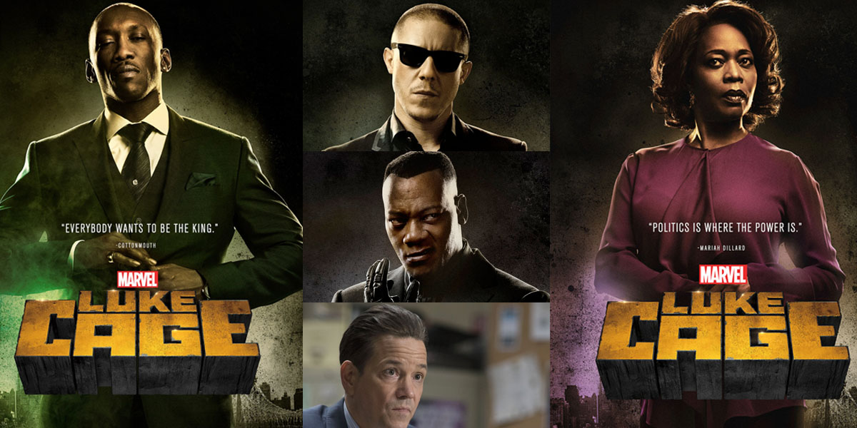 In Luke Cage, the Villains Steal The Show