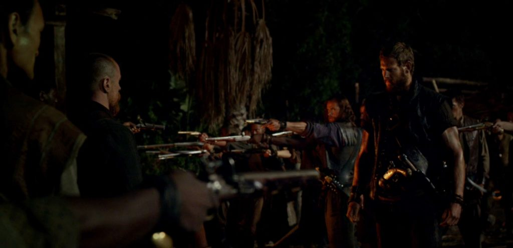 Black Sails Season 4 Episode 2 Captain Flint Billy Bones