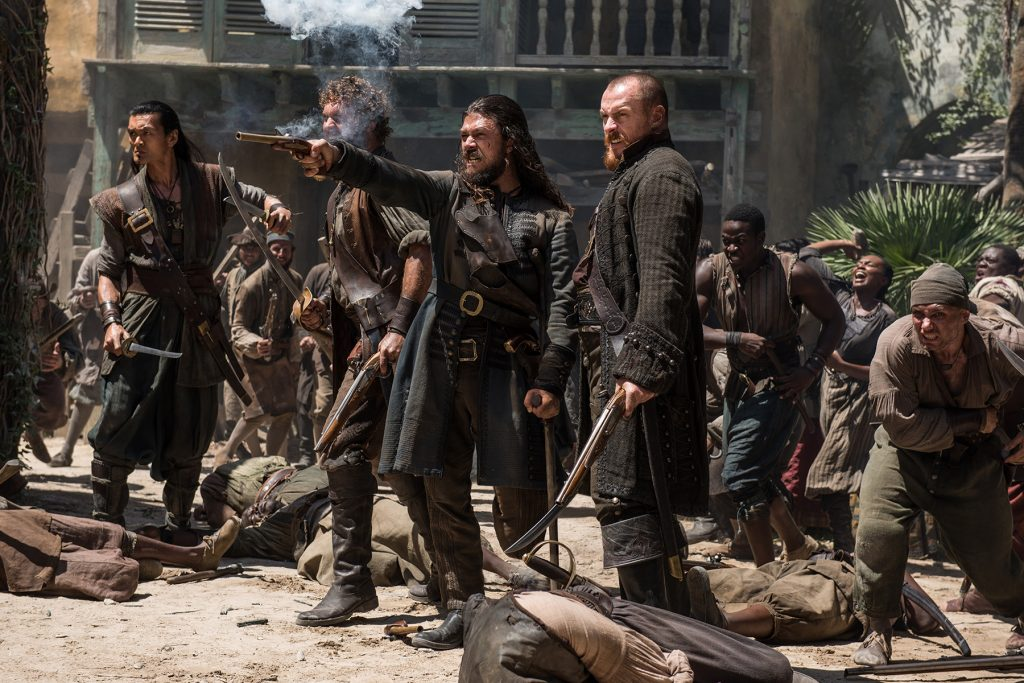 Long John Silver Luke Arnold Captain Flint Toby Stephens