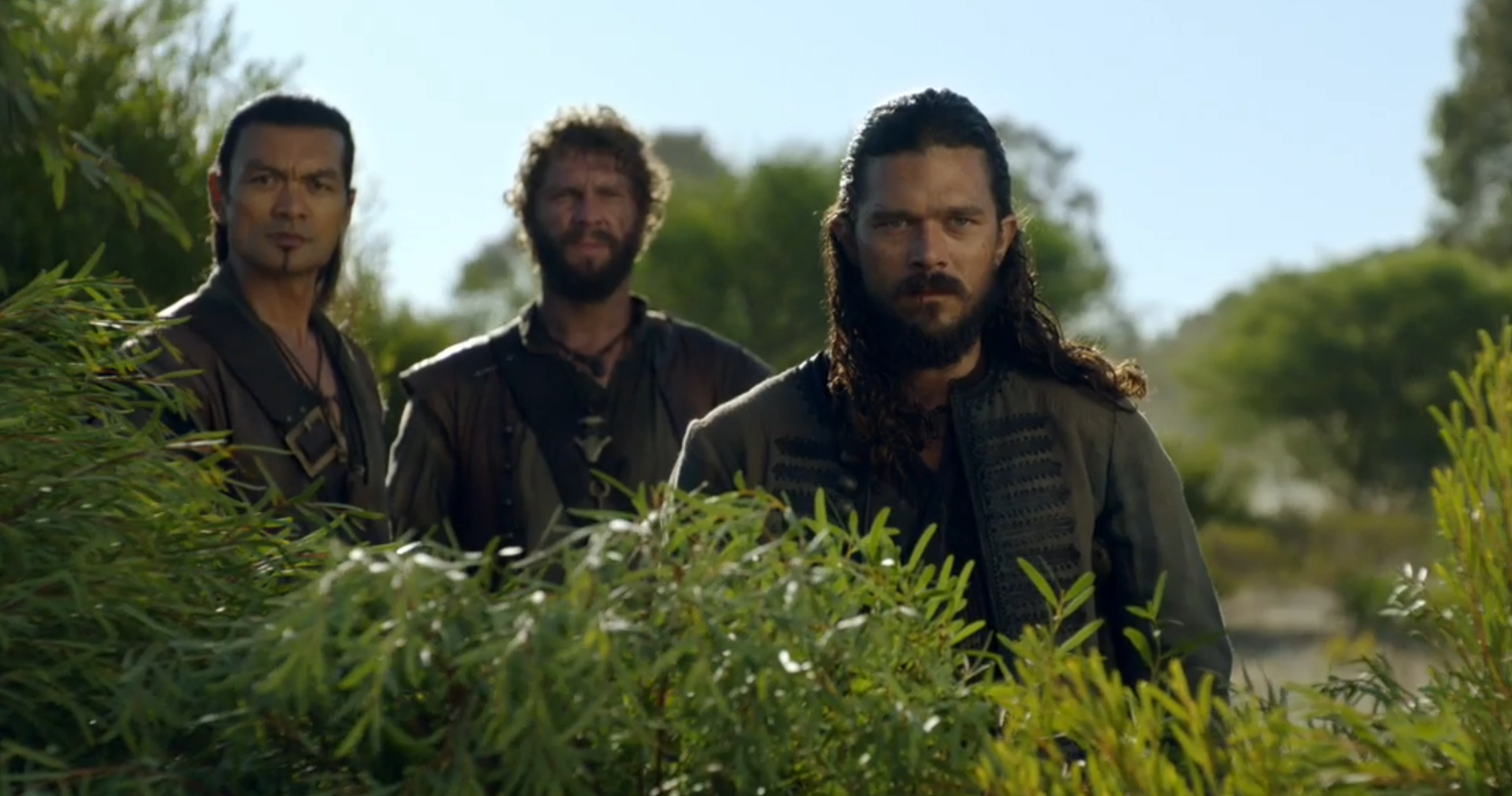 Black Sails Season 4 Episode 5 Long John Silver and Winston