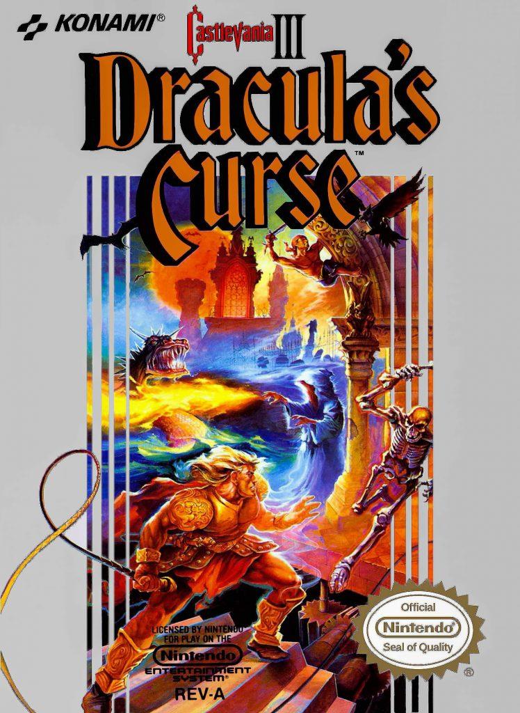 Castlevania III Dracula's Curse Game