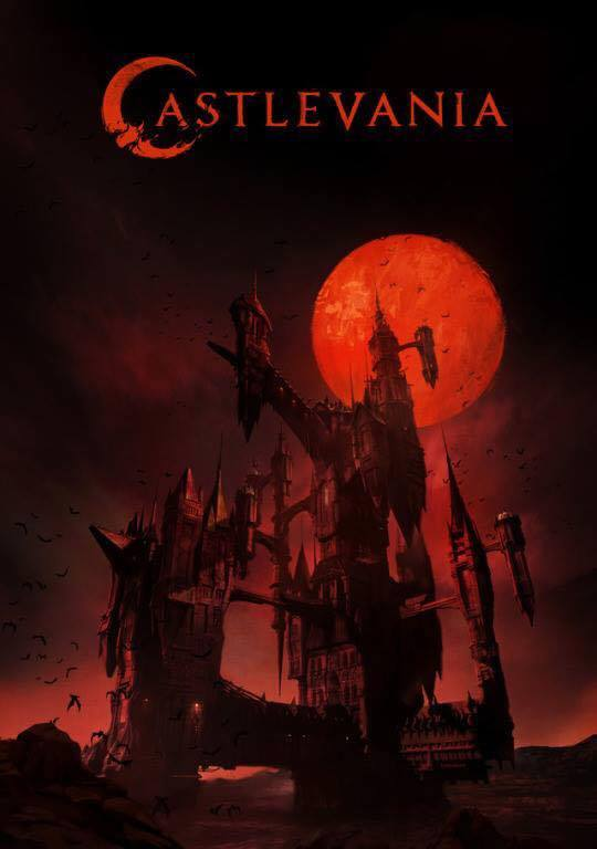 Castlevania official Netflix series poster