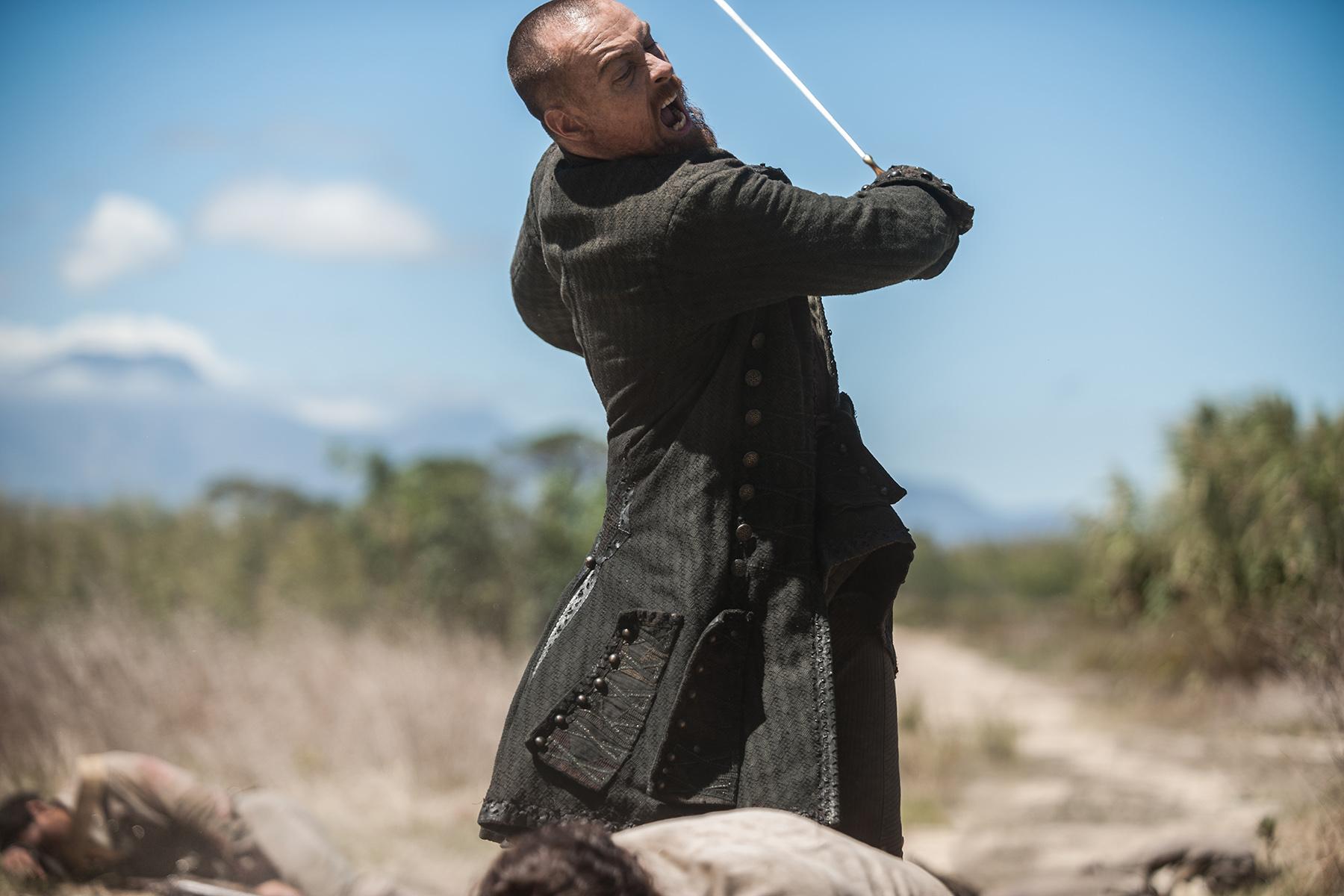 Captain Flint Black Sails Season 4 Episode 6