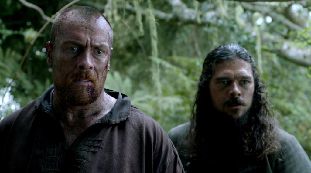 Black Sails Season 4 Episode 9 Flint and Silver