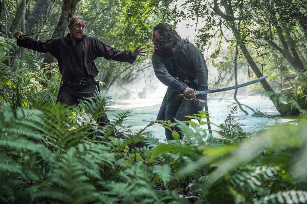 Captain Flint and Long John Silver Black Sails Season 4