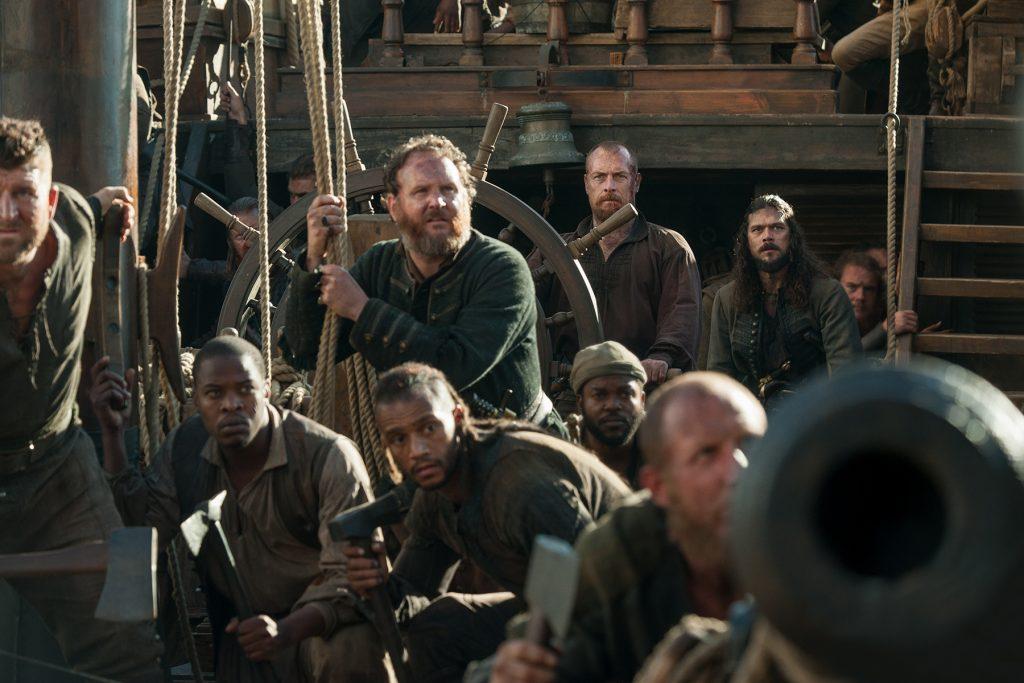 Black Sails Series Finale Captain Flint Long John Silver