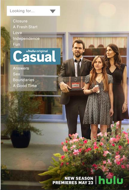 Casual's Season 3 Premieres on Hulu Today
