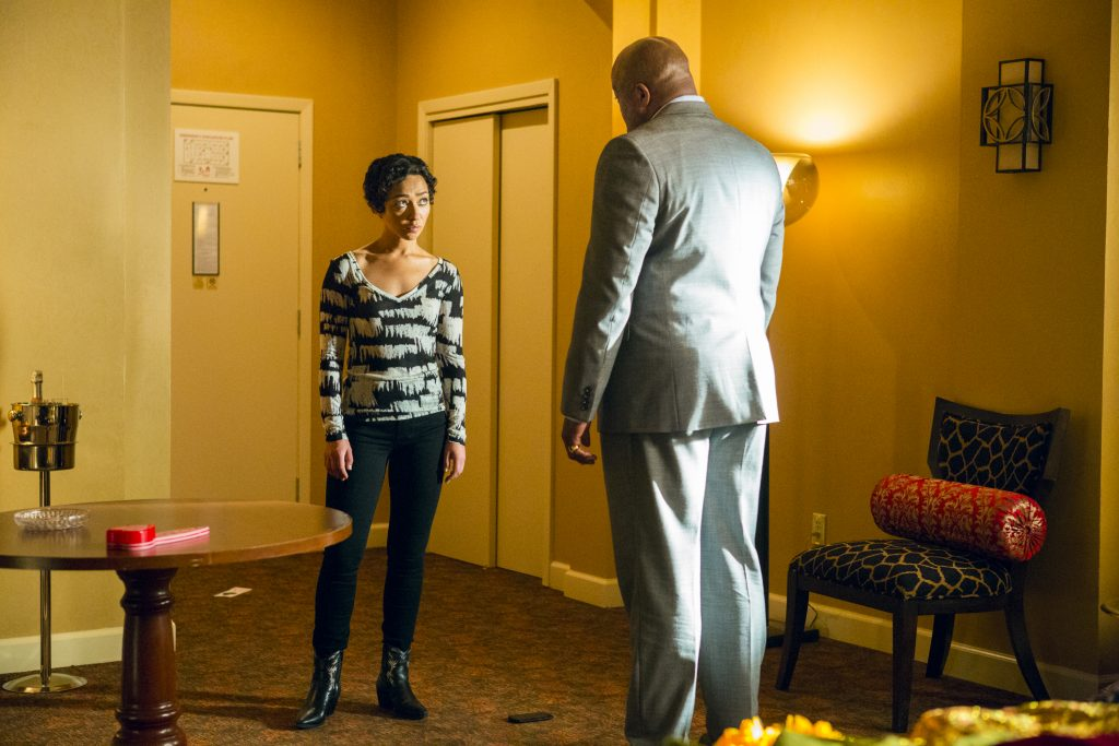 Ruth Negga Michael Beasley Preacher Season 2 Episode 2