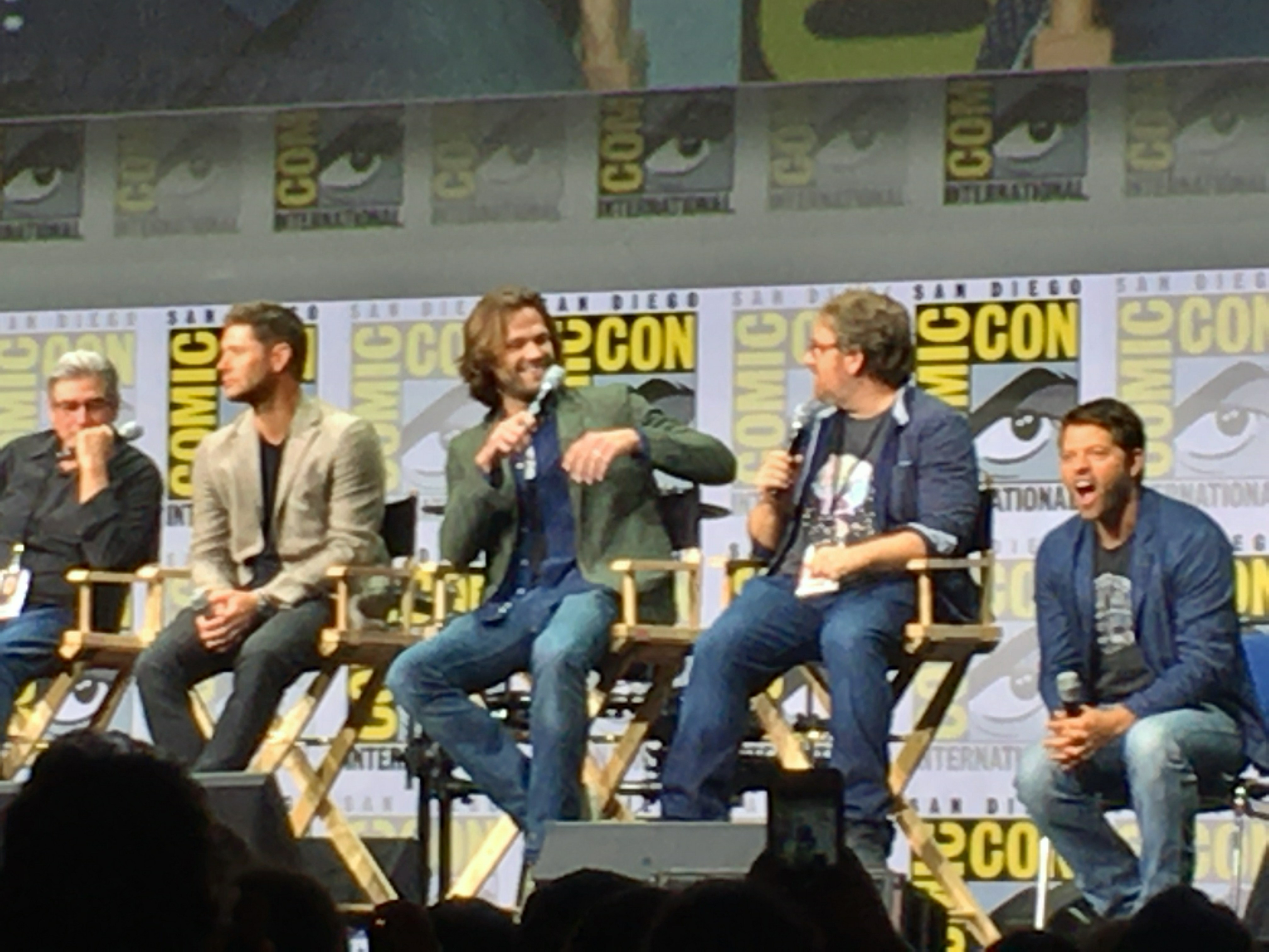 Comic-Con 2017: Supernatural Cast and EPs Talk Season 13, Lucifer's Child, Wayward Sisters, Scooby-Doo