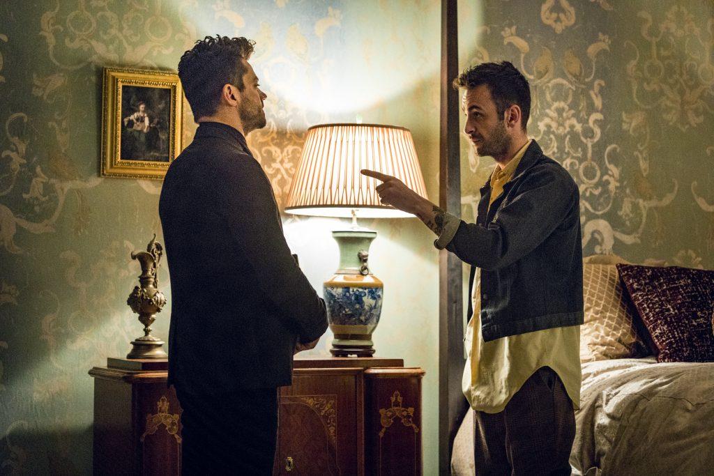 Joseph Gilgun Dominic Cooper Preacher Season 2 Episode 5