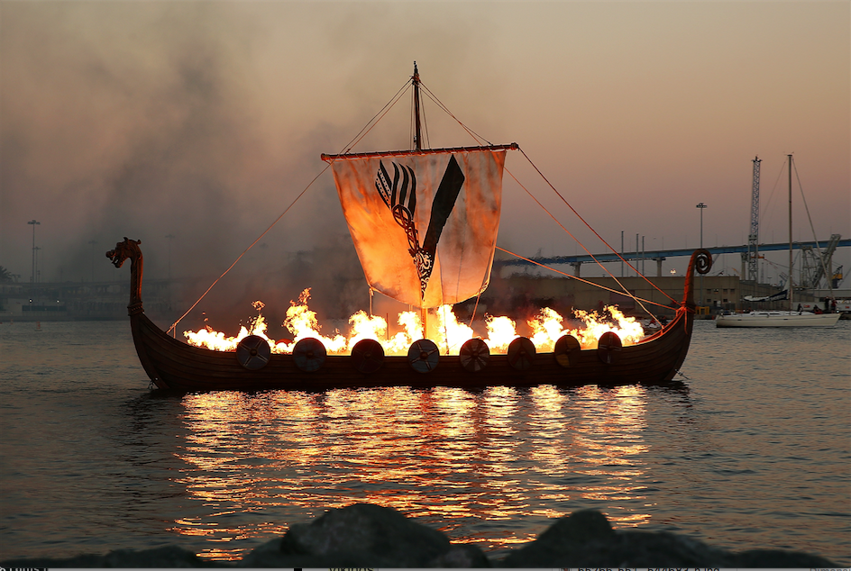 Comic-Con 2017 Moment of Goodness: HISTORY Gives Ragnar a Proper Vikings Funeral