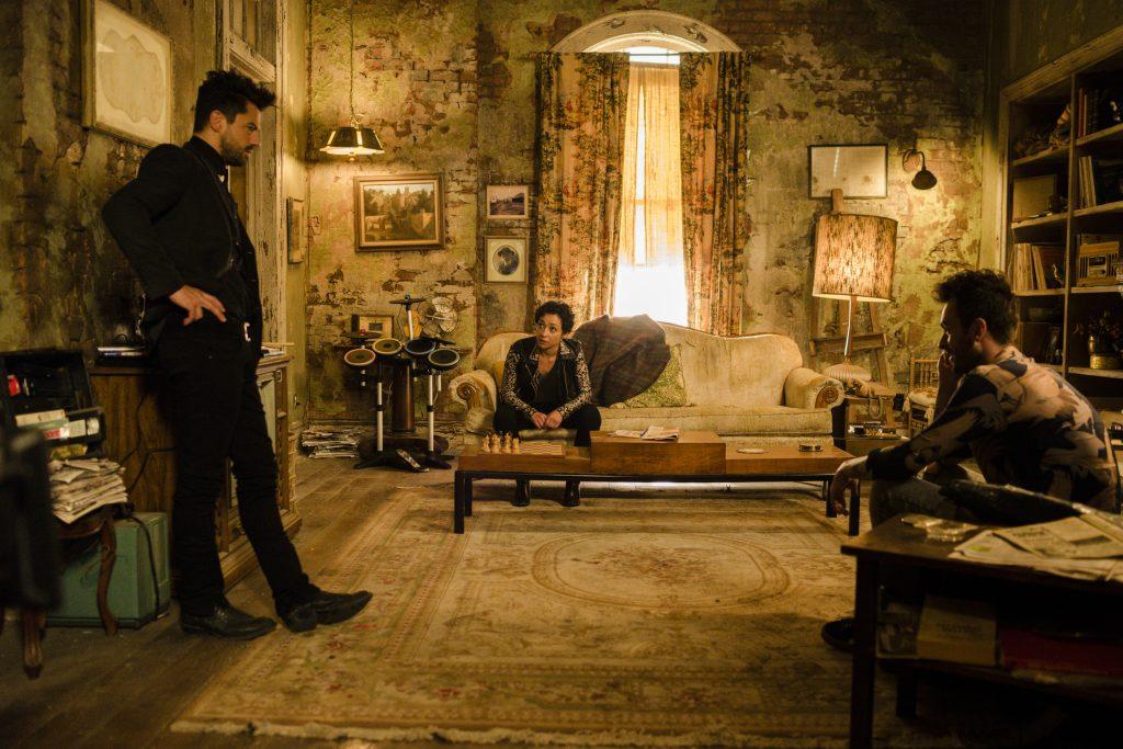 Dominic Cooper Ruth Negga Joseph Gilgun Preacher Backdoors
