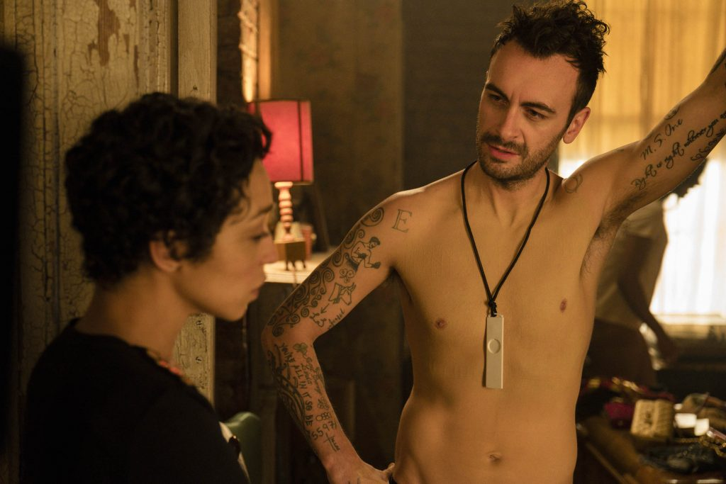 Joseph Gilgun Ruth Negga Preacher Dirty Little Secret S2E10