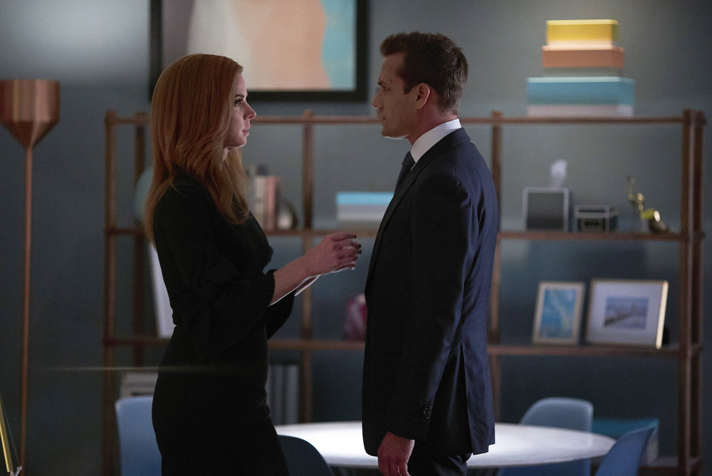 """Two Takes: Suits """"Donna"""""""