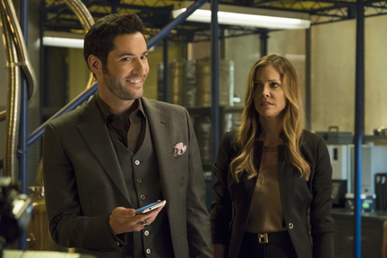 """Lucifer Isn't Keen at First to """"Welcome Back Charlotte Richards"""""""