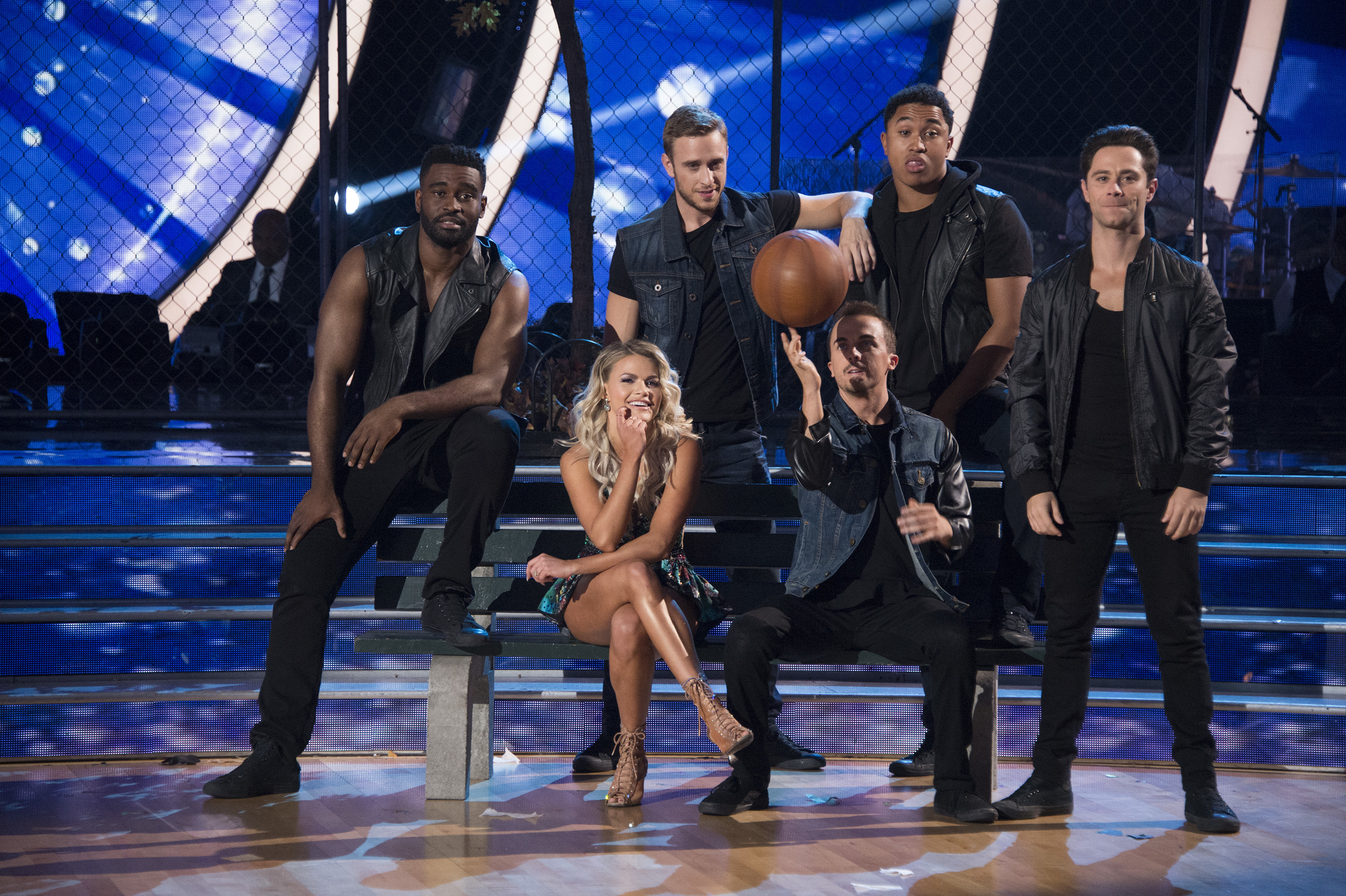 "DANCING WITH THE STARS - ""Episode 2509"" - The five remaining couples advance to the Semi-Finals as the competition heats up in anticipation of next week's crowning of the coveted Mirrorball trophy, on ""Dancing with the Stars,"" live, MONDAY, NOV. 13 (8:00-10:01 p.m. EST), on The ABC Television Network, streaming and on demand. (ABC/Eric McCandless) WITNEY CARSON, FRANKIE MUNIZ"