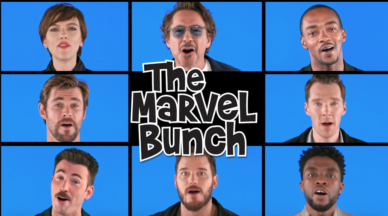 """Quick Takes: Jimmy Fallon Unveils """"The Marvel Bunch"""""""