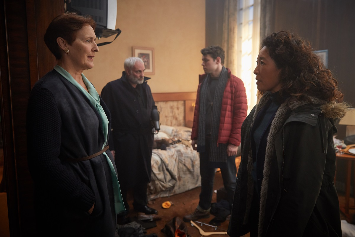 """Killing Eve Season 1 Finale Preview: """"God, I'm Tired"""""""