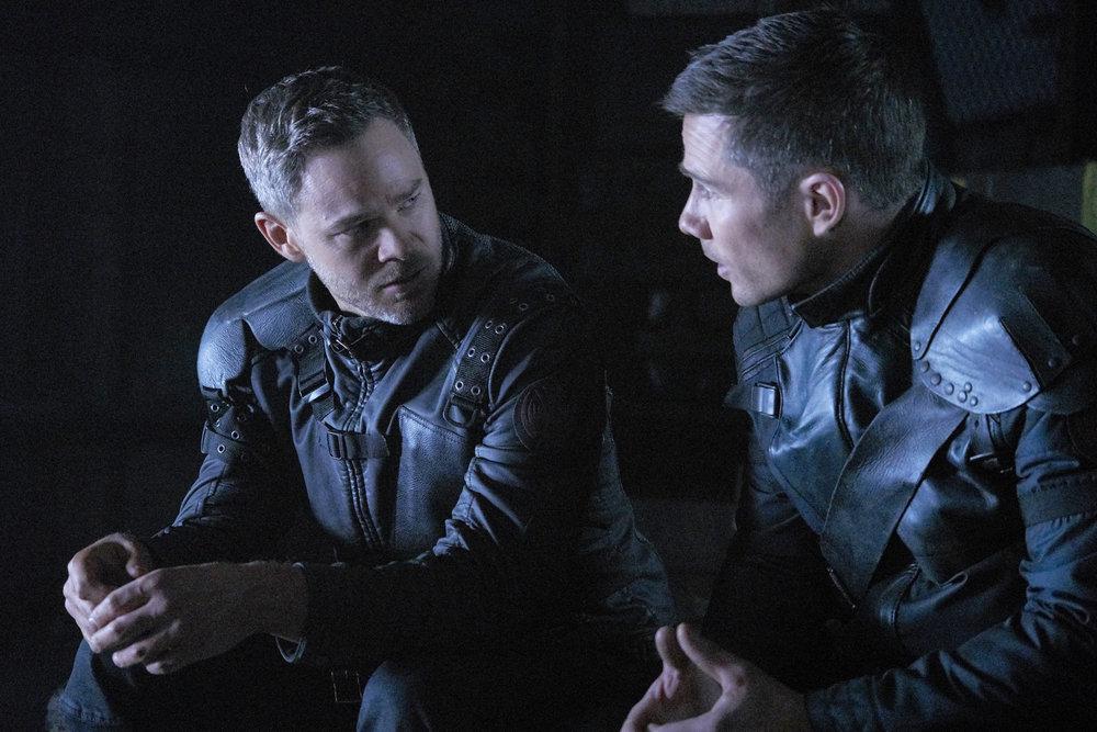 "Aaron Ashmore and Luke Macfarlane Break Down Family Dynamics in Killjoys ""Johnny Dangerously"" [Exclusive]"
