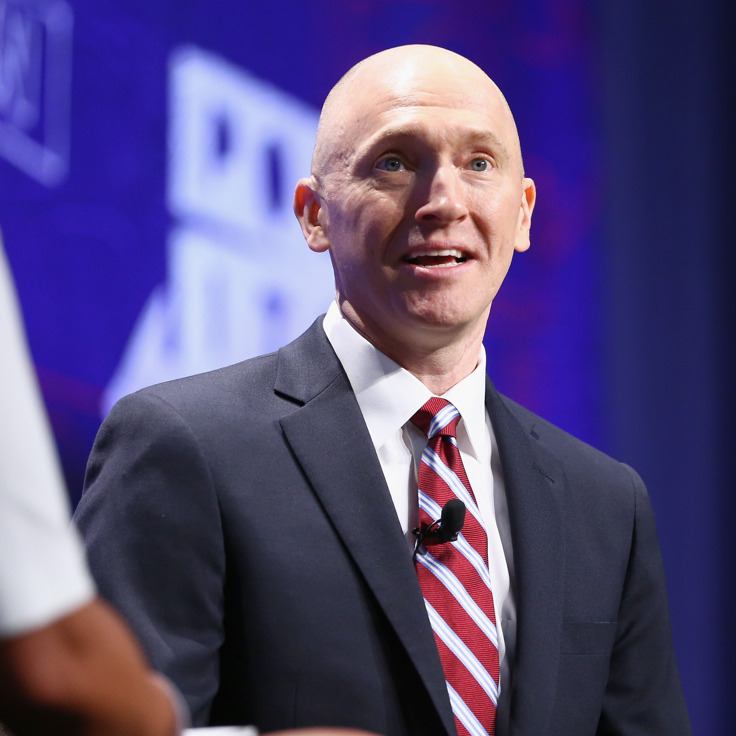 """Politicon 2018: Carter Page Crashes the """"Active Measures"""" Panel"""