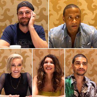 Arrow Final Season Watch: The Cast talks Season 8