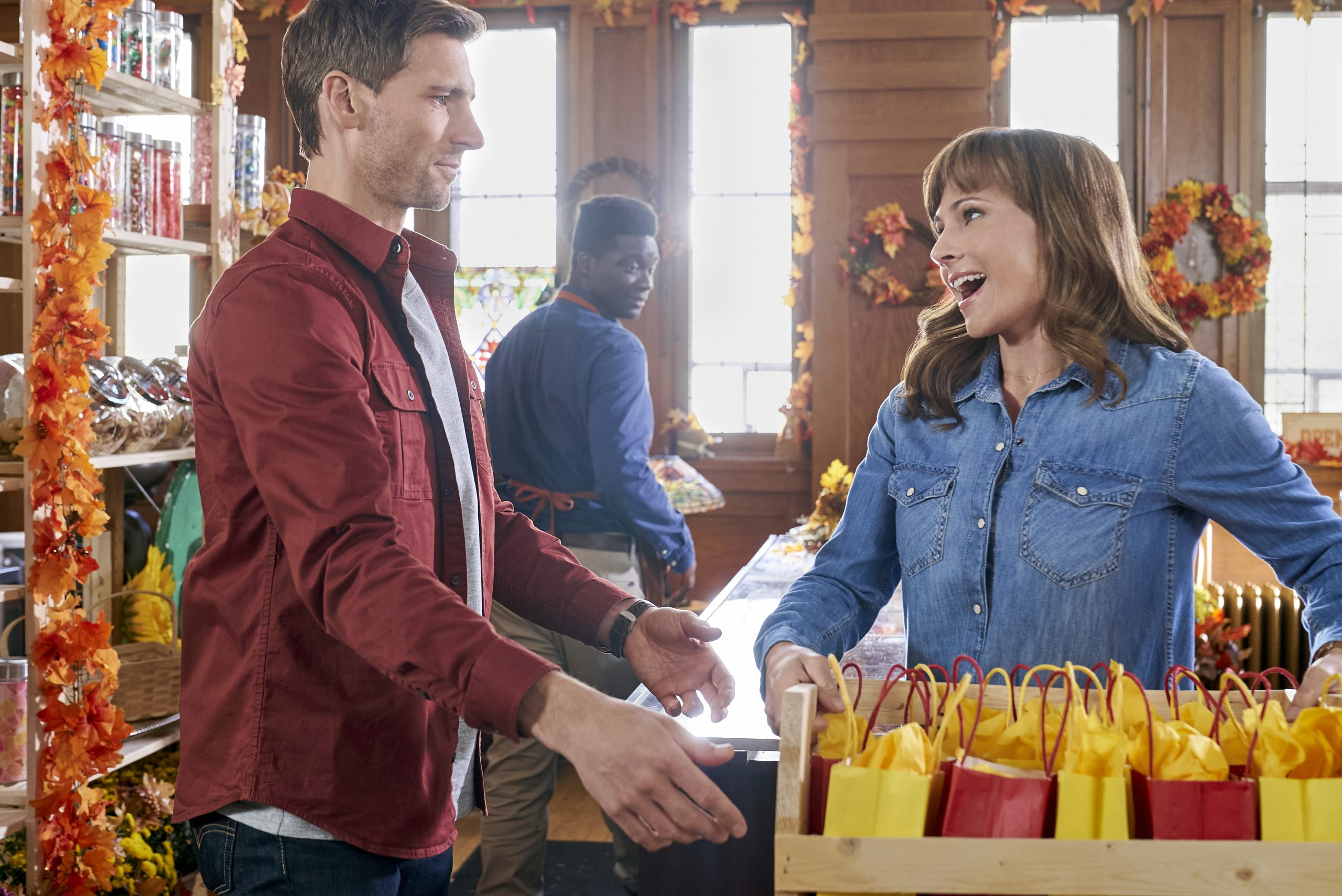 Nikki DeLoach and Andrew Walker Preview Sweet Autumn [Exclusive]